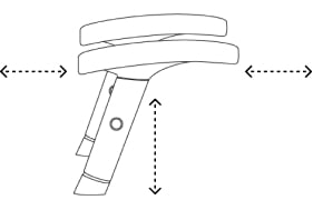 Two Way Adjustable Arms